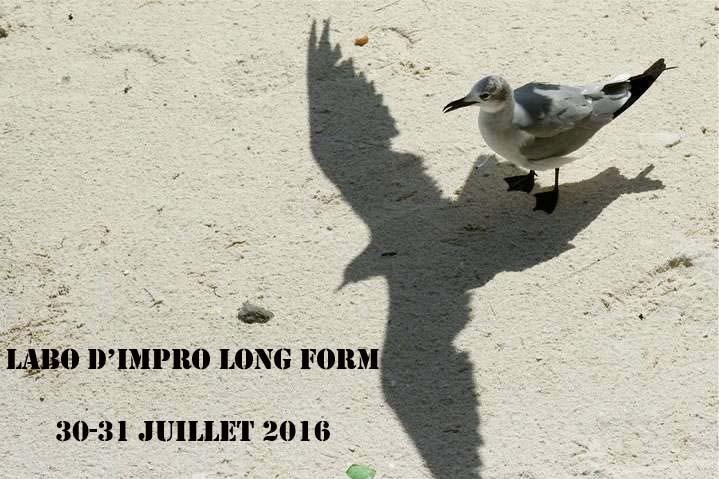 """""""LABORATOIRE D'IMPROVISATION FORMAT LONG"""""""